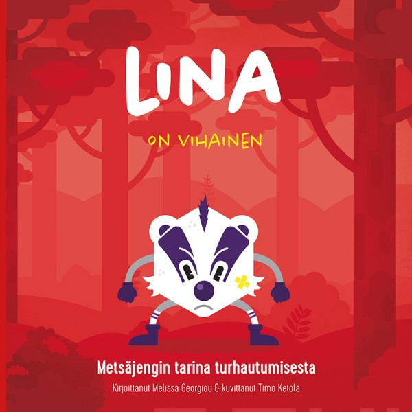 Lina on vihainen