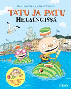 Havukainen ja Toivonen: Tatu ja Patu Helsingissä, kansikuva