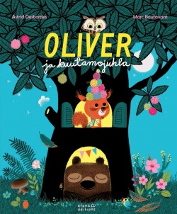 Oliver ja kuutamojuhla - kirjan kansikuva