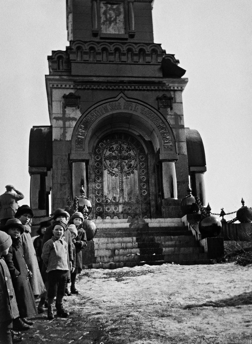 Tervattu Resvoyn Rauhan kappeli Katajanokalla vuonna 1919.