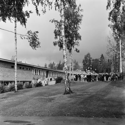 Kannelmäen kansakoulu.