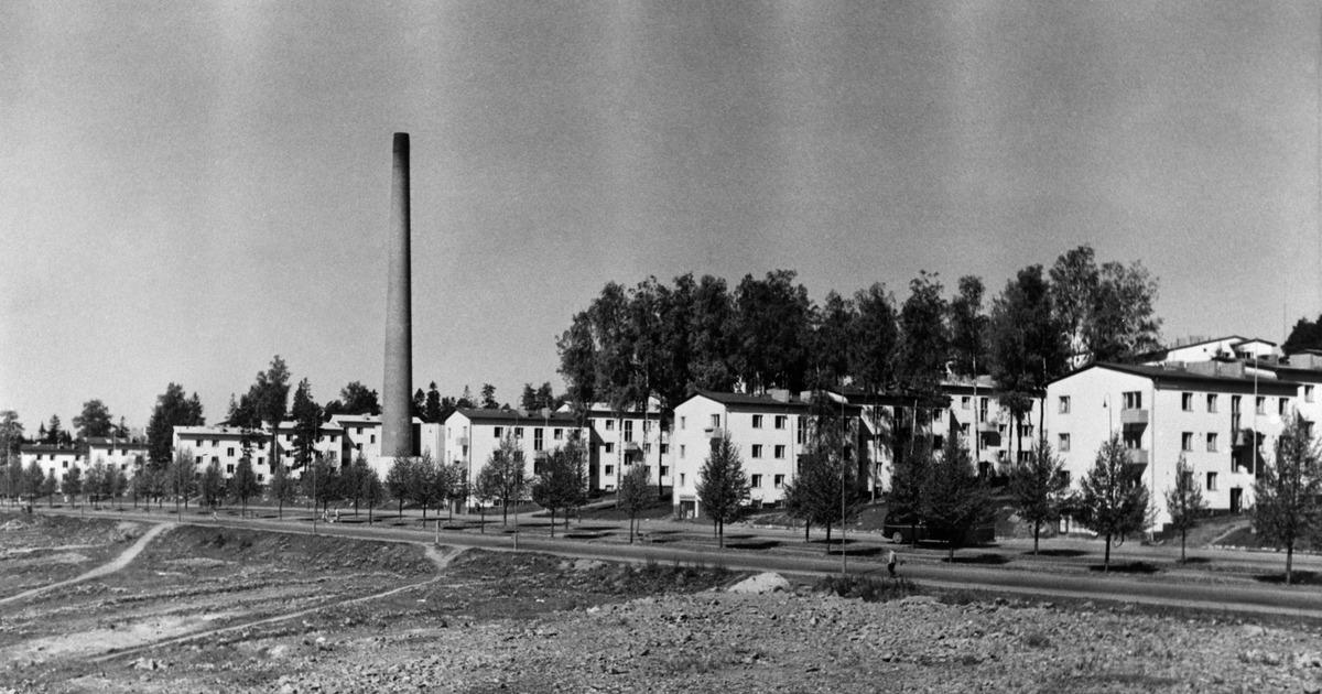 Koskelantie 48, 50, 52, 54. Olympiakylä, Käpylä.