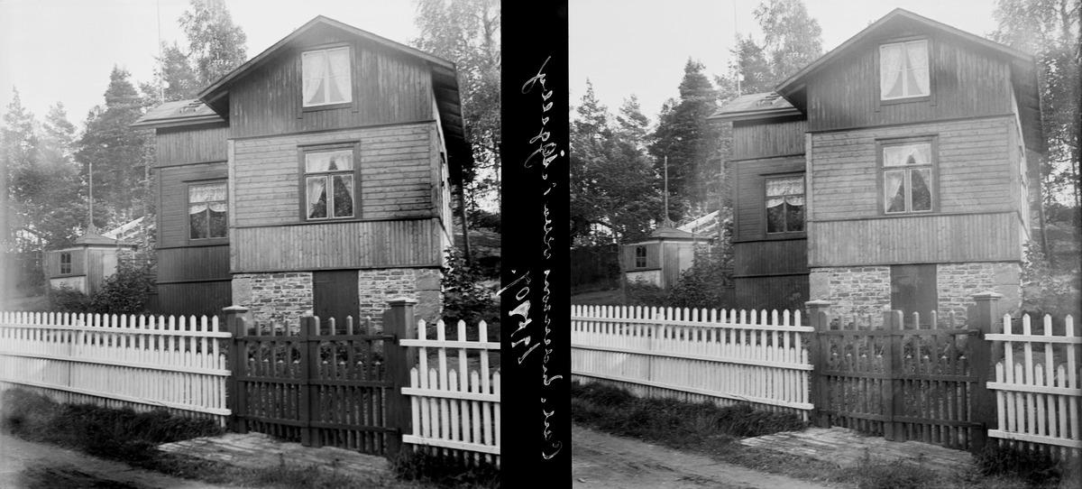 Carl Anderssonin huvila Oulunkylässä.