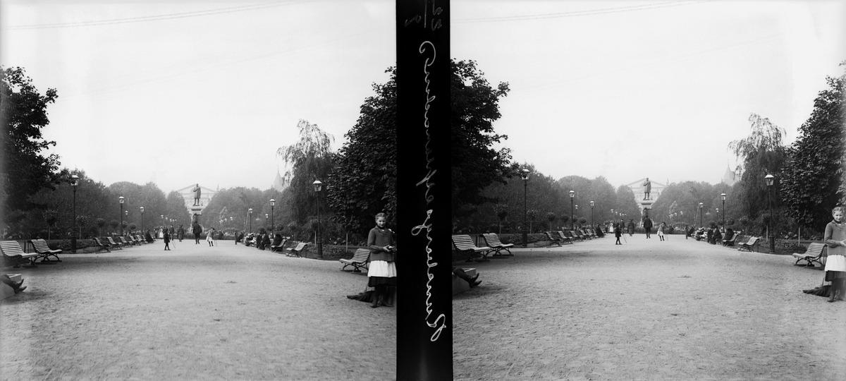 Näkymä Runebergin esplanadille.
