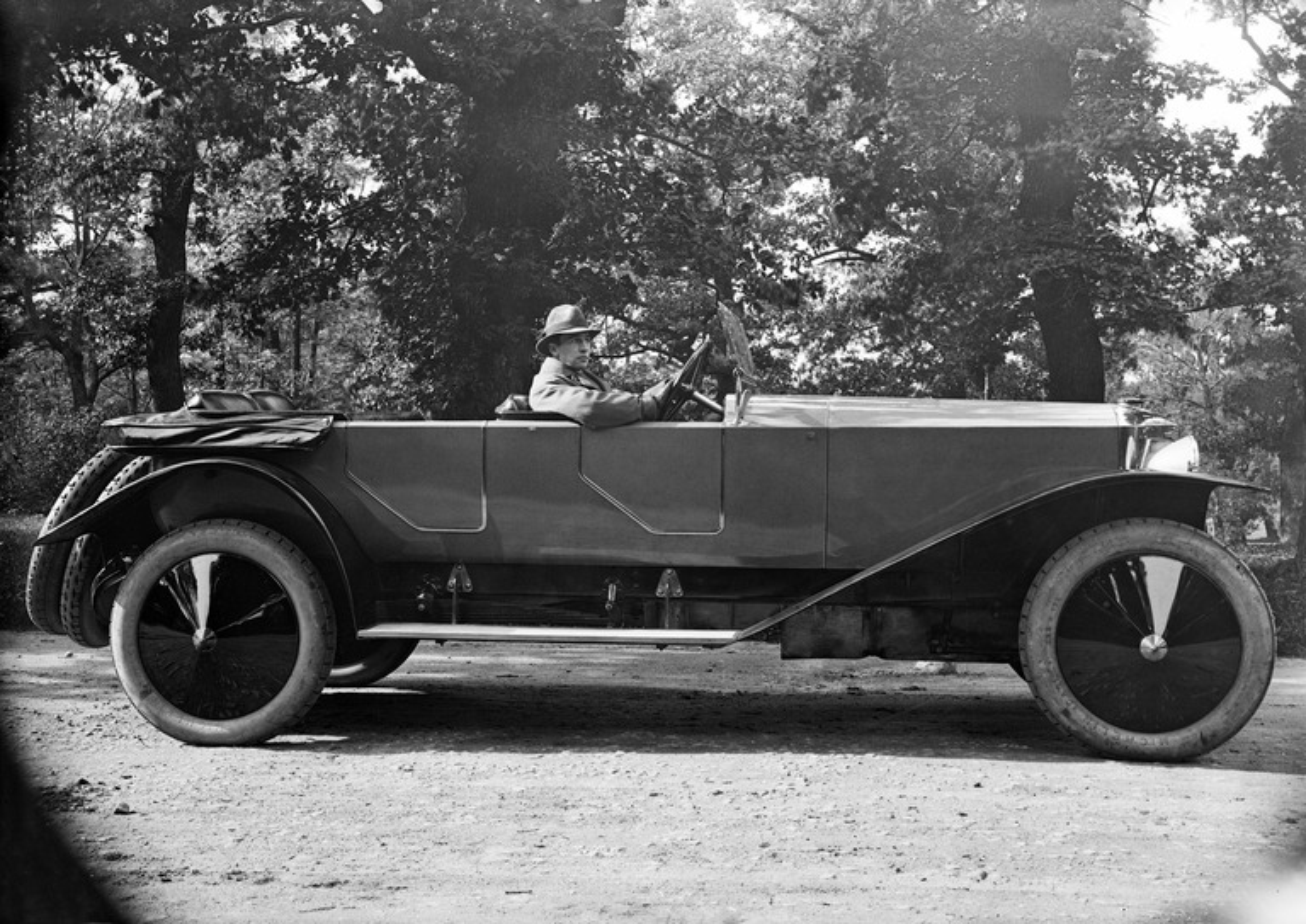 Constantin Grünberg Austro Daimlerin ratissa
