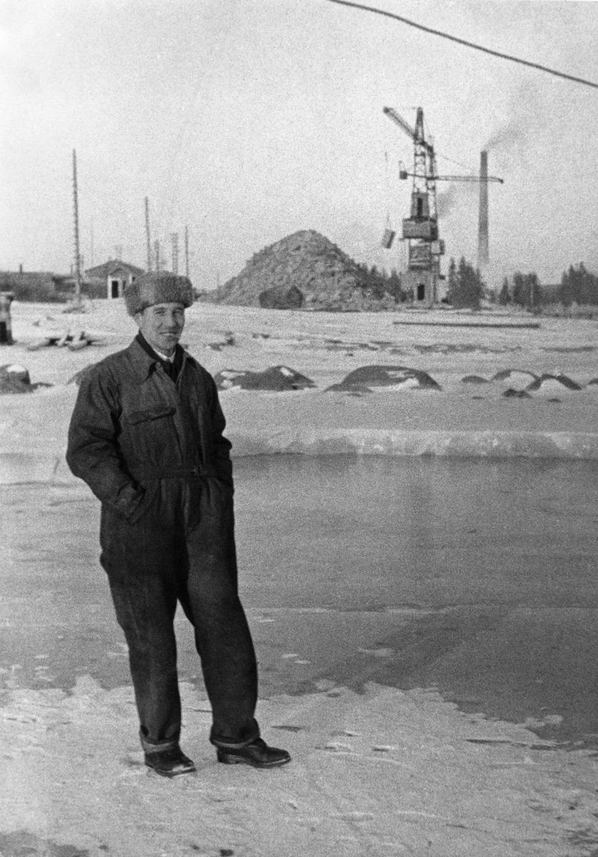 Valokuvaaja Constantin Grünberg noin 1930-luvulla