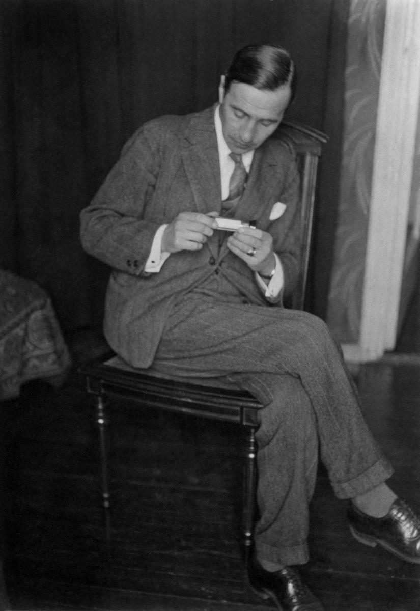 Valokuvaaja Constantin Grünberg 1920-luvulla.