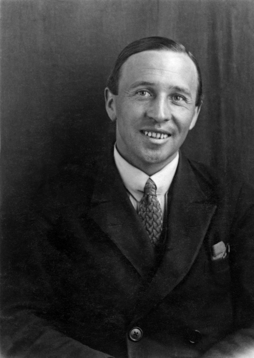 Valokuvaaja Constantin Grünberg n.1930-luvulla.