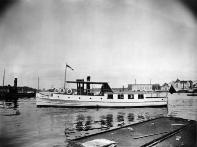 Sommarö II -moottorialus Hietalahden telakalla