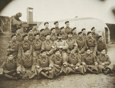 Venäläisiä sotilaita Viaporin varuskunnassa Läntisessä Mustasaaressa.