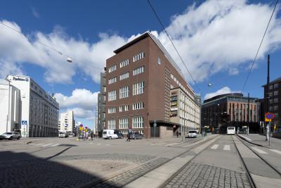 Kampin sähköasema, Malminrinne 6. Arkkitehti Gunnar Taucher, 1939.