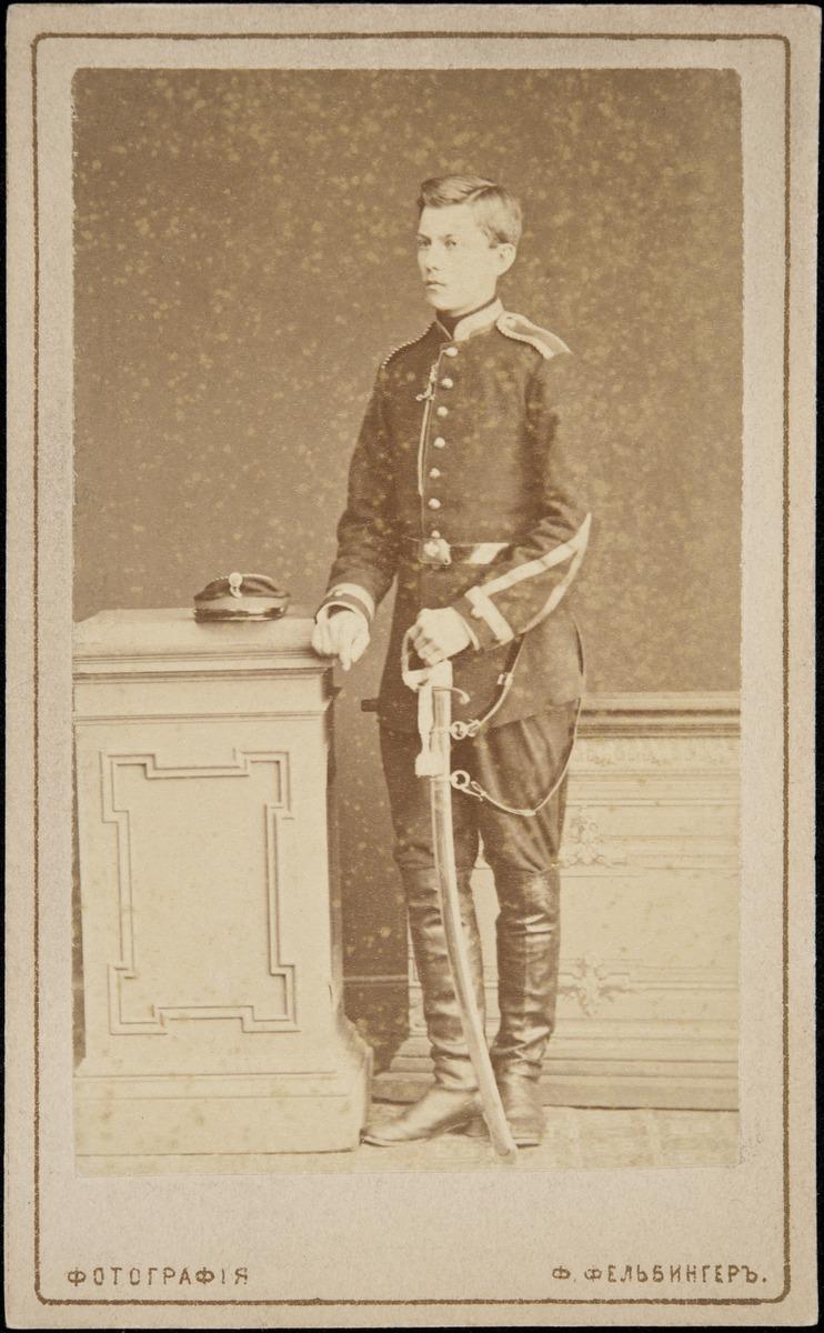 Ernst Nikolai Brander (s.1857?), Signe Branderin serkku (isän veljenpoika).