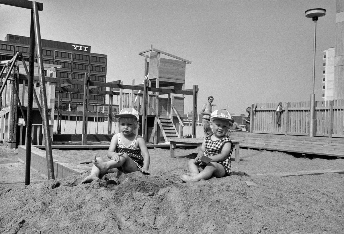 Niños finlandeses de los 70