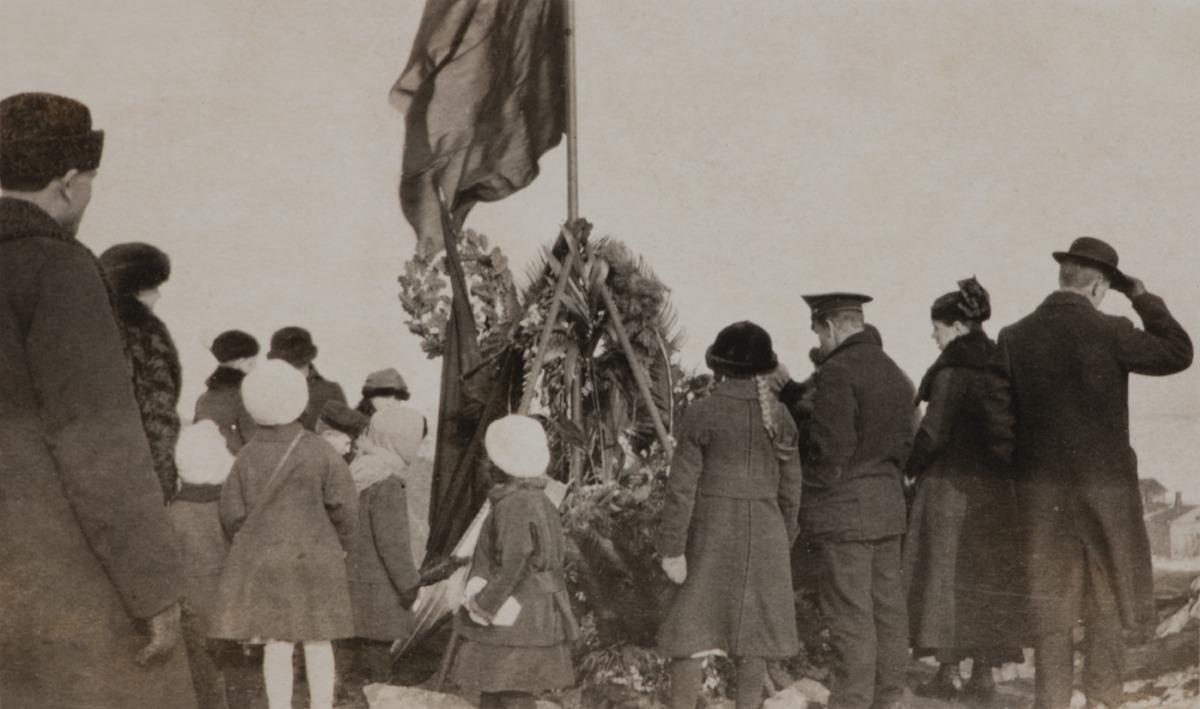 Maaliskuun vallankumouksessa kuolleiden hautajaiset