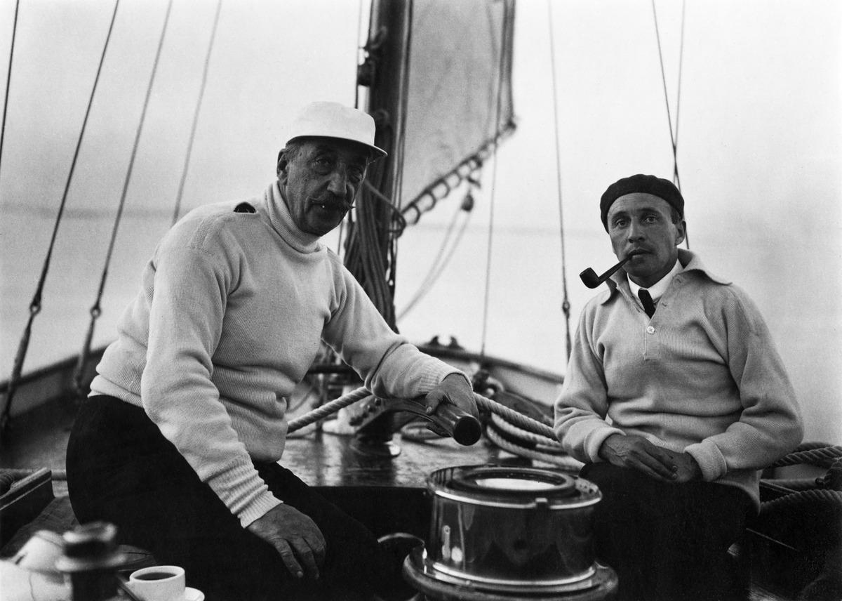 Constantin Grünberg ja Eugen Eichholz Tammettarella