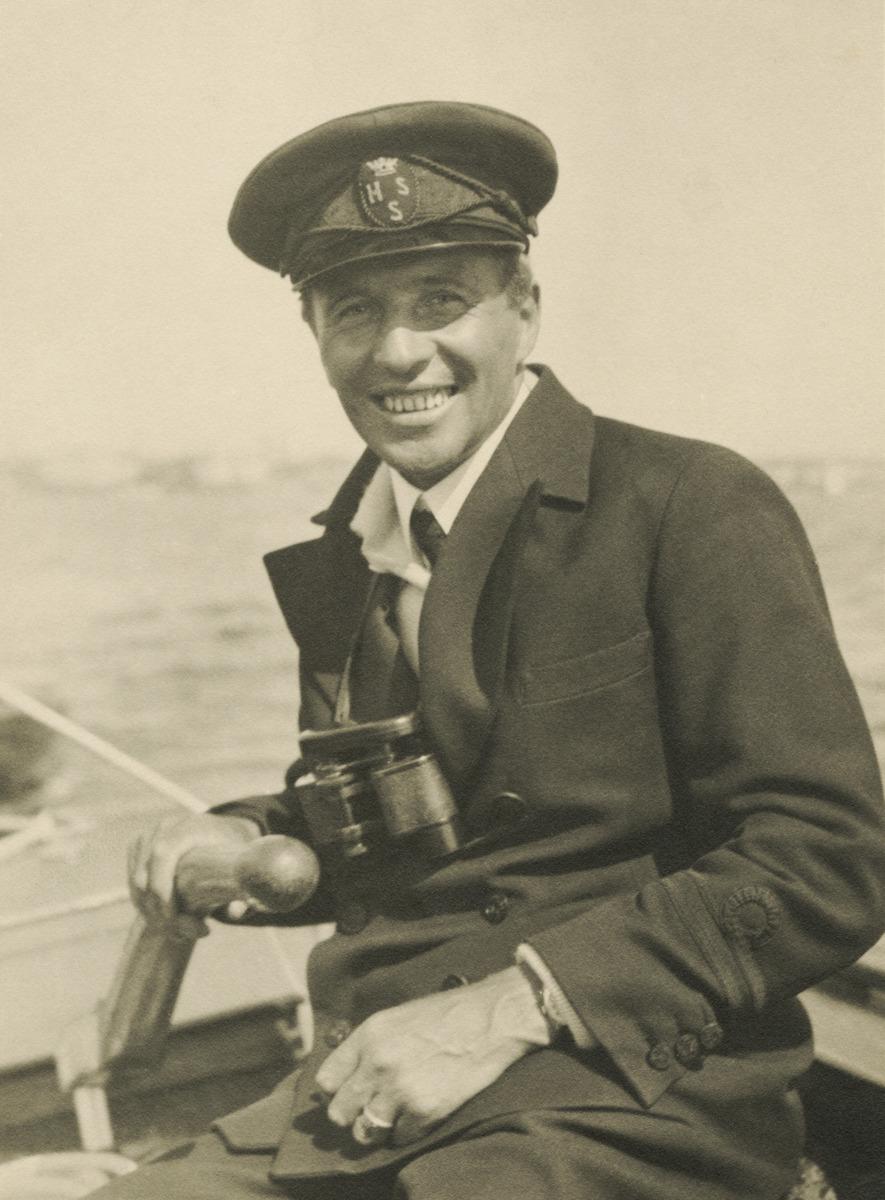 Constantin Grünberg purjehtimassa