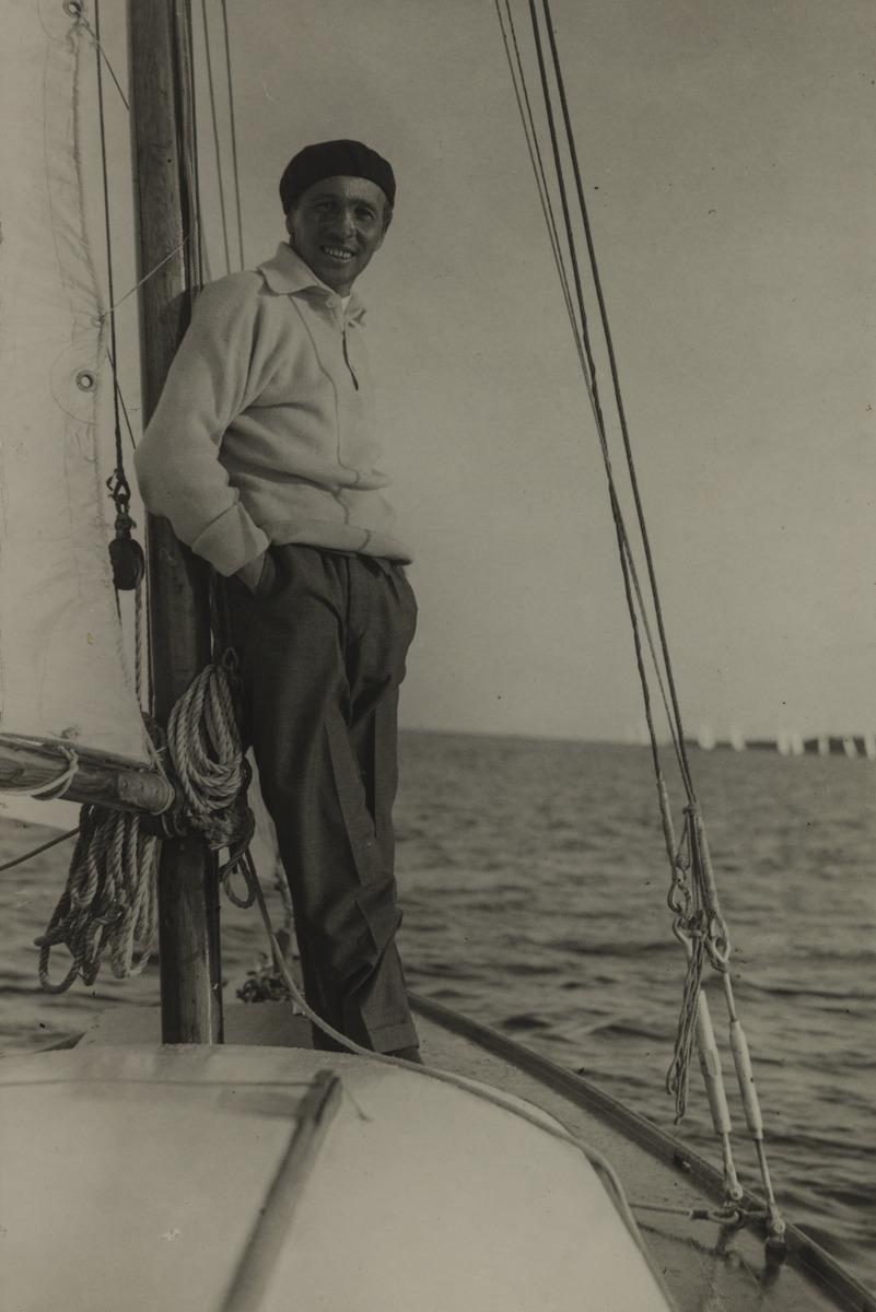 Constantin Grünberg purjeveneellä