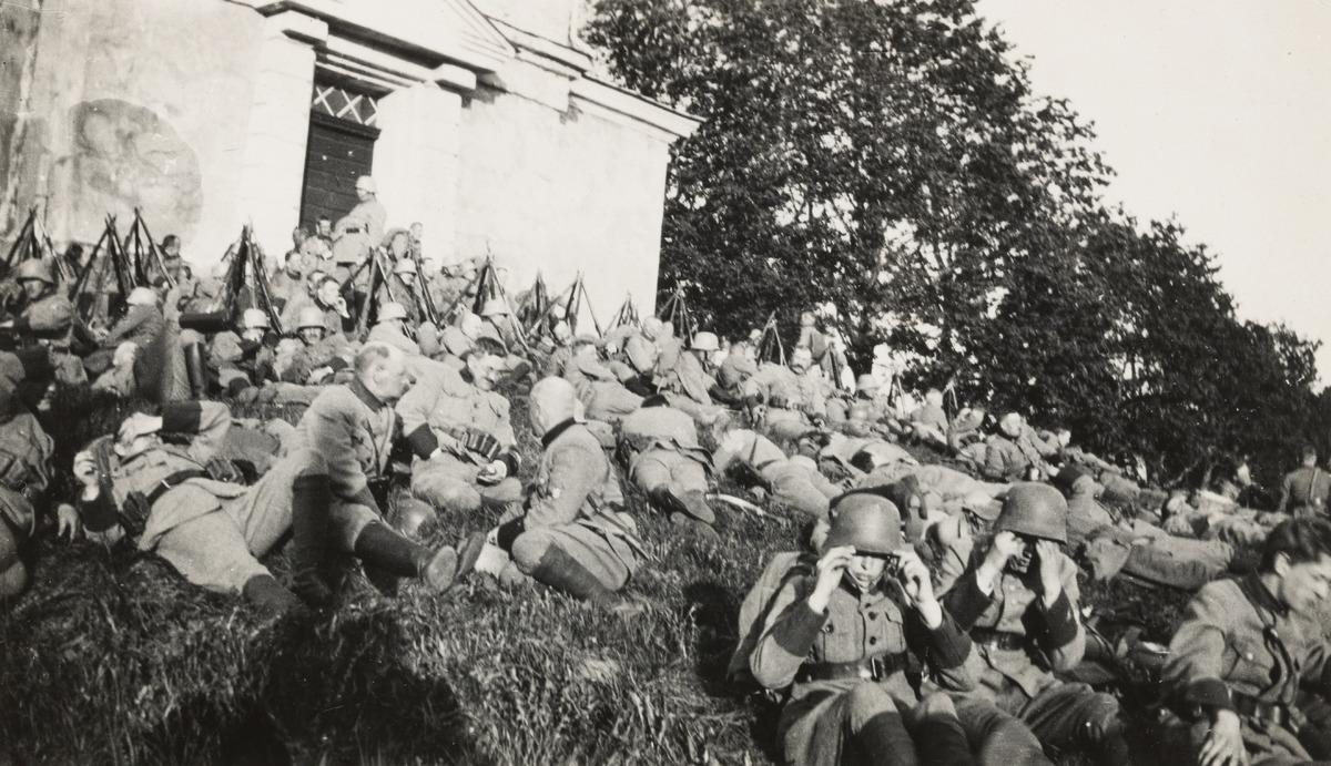 Helsingin valtaus 1918.