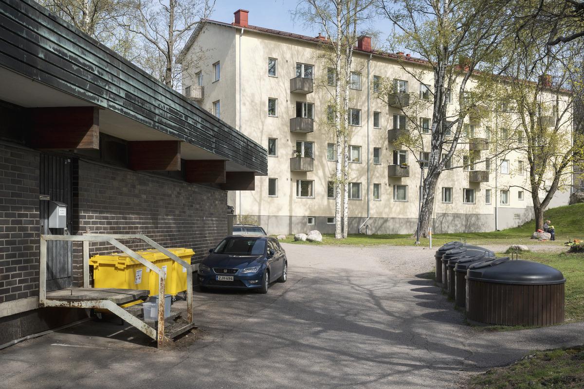 Pohjoismaiden Yhdyspankin konttorirakennus, Mäkelänkatu 95, Käpylä