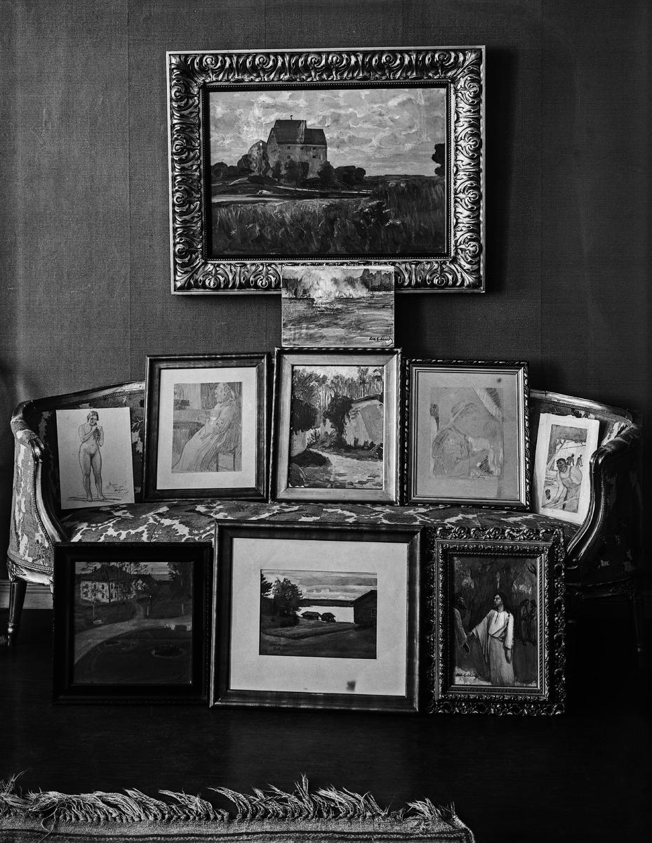 Stenmanin taidesalonki, Erottajankatu 7. Salonki toimi Erottajankadulla vuosina 1914-1919