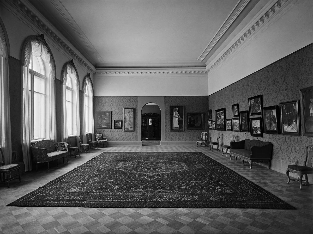 Stenmanin Taidepalatsin näyttelysali