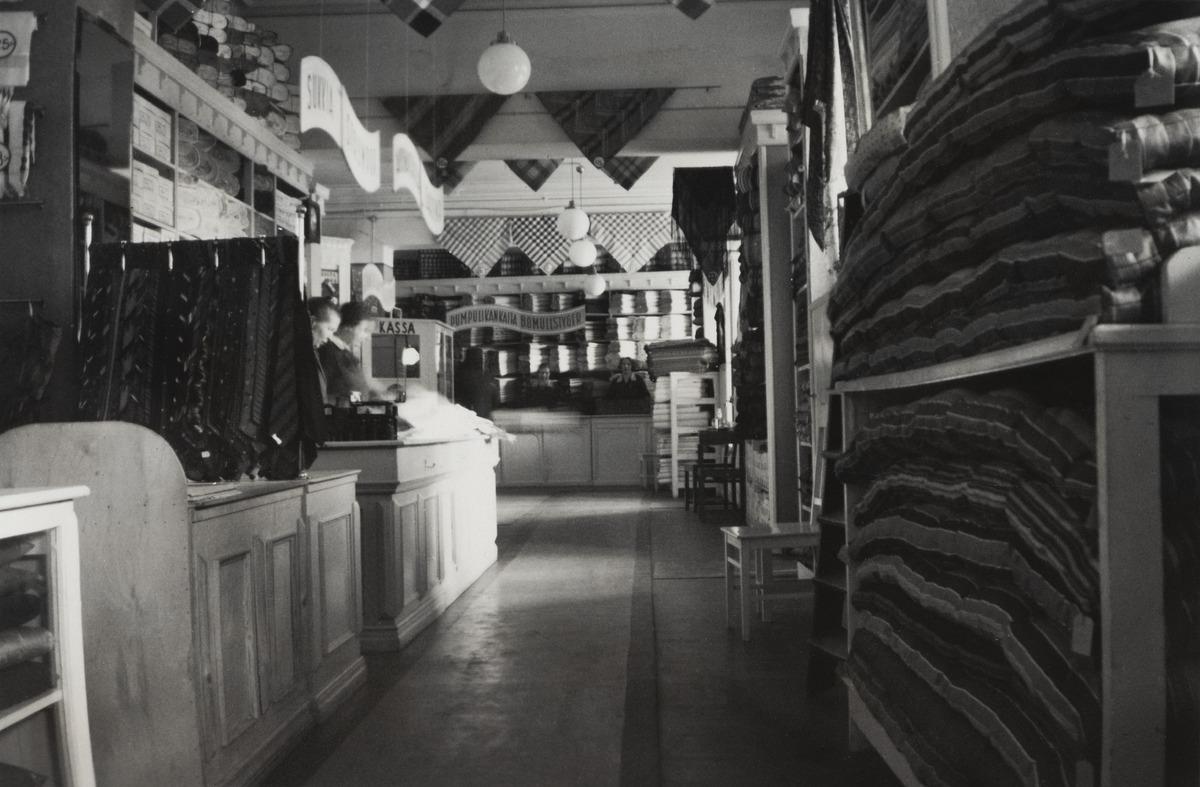 Turun Vanuliikkeen (myöhemmin Turun Vanu) myymälä, Länsi-Heikinkatu 6 (nykyään Mannerheimintie 2a)
