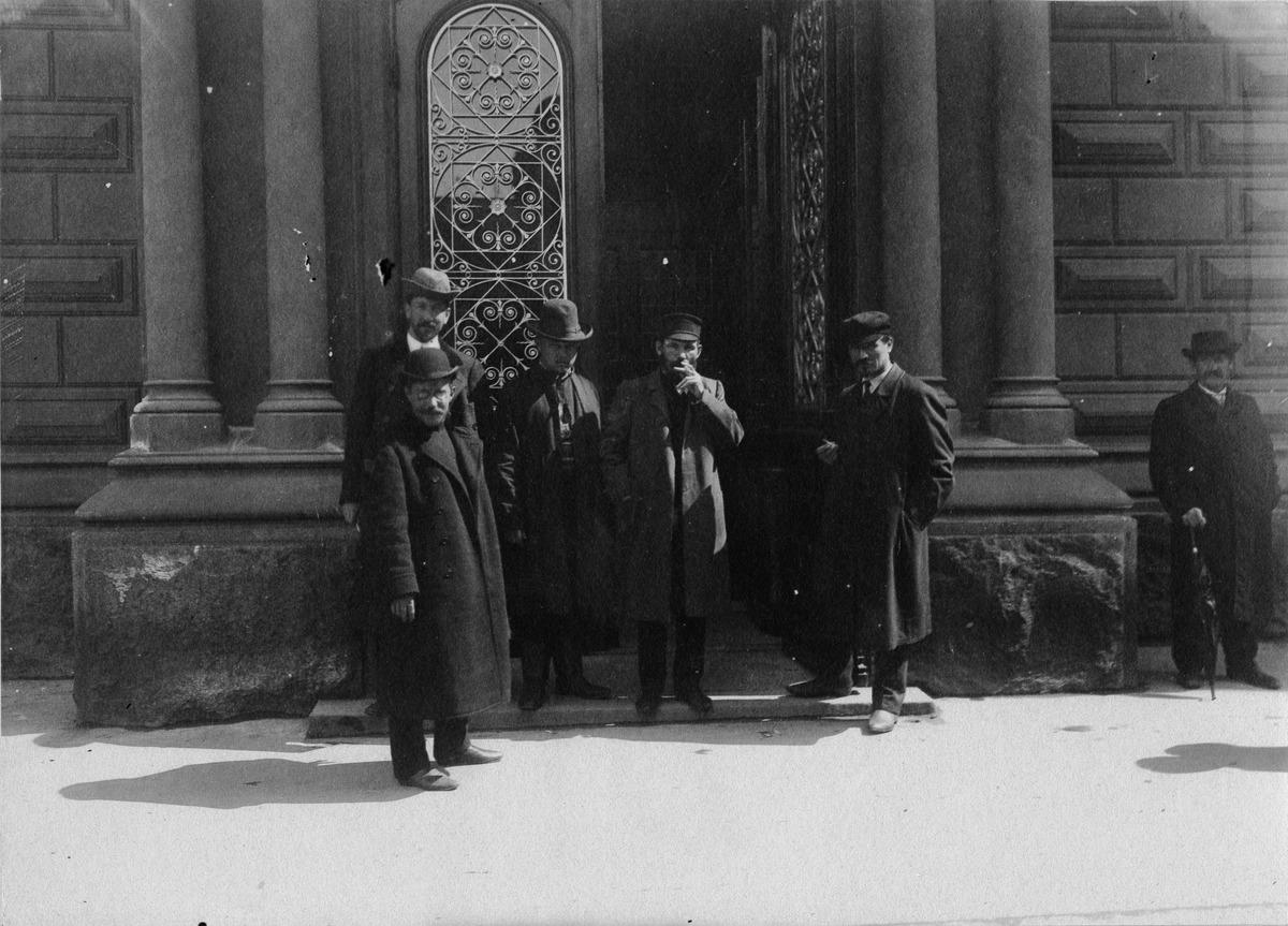 Ensimmäisten yksikamaristen valtiopäivien avajaiset 25.5.1907