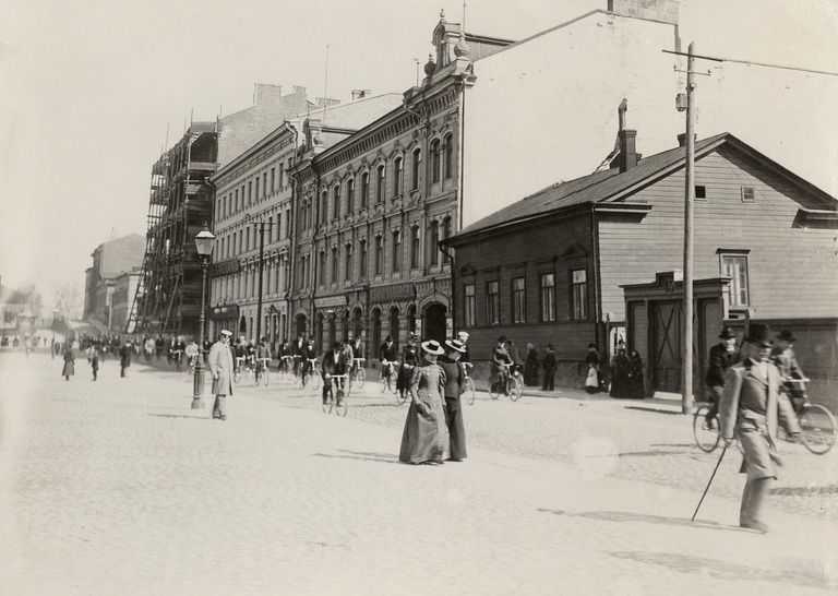 Helsinki a principios del siglo XIX