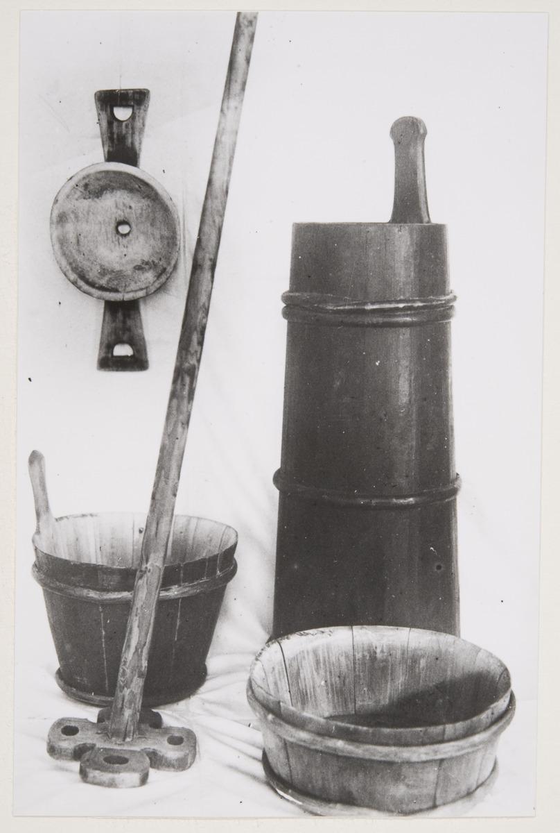 Maitoastioita, kuvaaja Grotenfelt Gösta 1915 - 1917, Museovirasto - Musketti